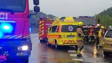 Intervencija: Prometna nesreča